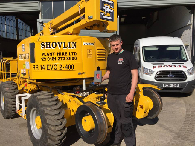 Shovlin plant hire fitter with TTP HARD drill bits