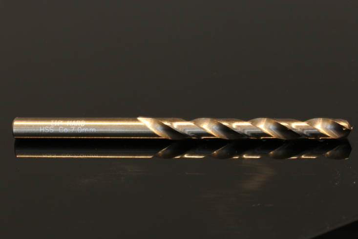 Side on photo of TTP HARD drill bit